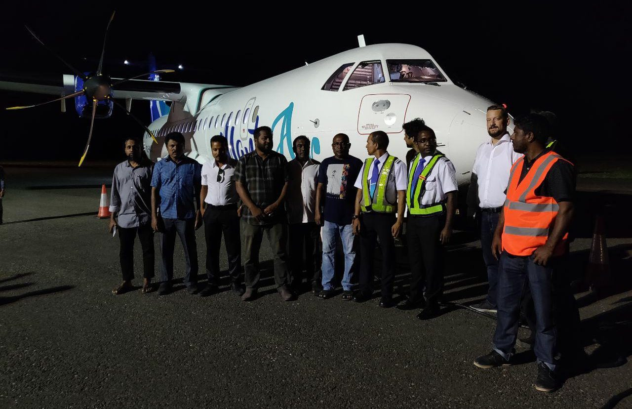 Manta Air welcomes its first edition to its fleet
